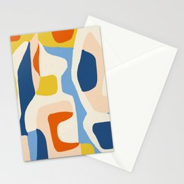 Me & Mine #abstract #painting Stationery Cards