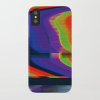 glitch iPhone & iPod Cases featuring Glitch by Simon Langlois