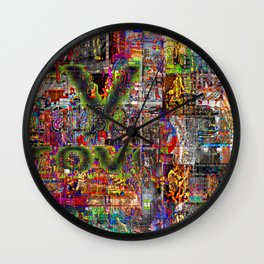 And Yet, Somehow, We Are All The Illegitimate Children of Michael J. Pollard [A.N.T.S Series] Wall Clock