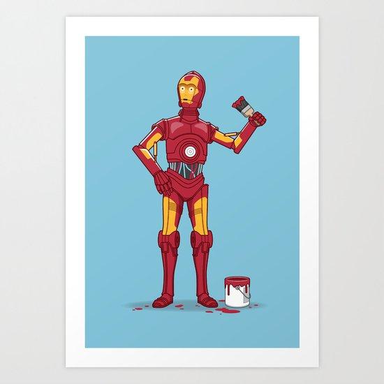 Iron Droid Variant Art Print