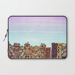 New York Purple Sky Laptop Sleeve