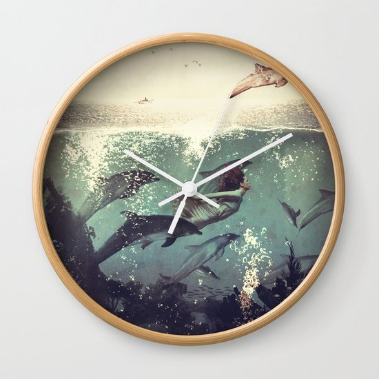 My favourite morning race Wall Clock