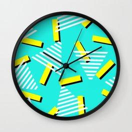 80's pattern Wall Clock
