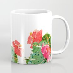 scratched cactus Coffee Mug