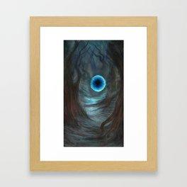 A Rift Between Framed Art Print