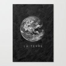 La Terre Canvas Print