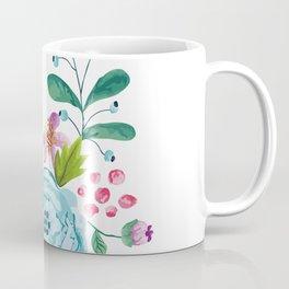 Smiley :) Flowers Coffee Mug