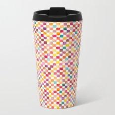 Klee Pattern Metal Travel Mug