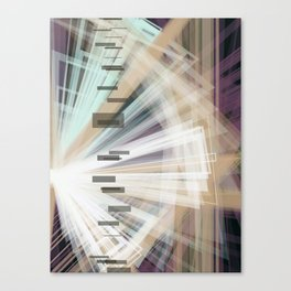 Disrupted Shades Canvas Print