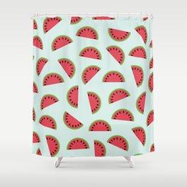 Melon  Shower Curtain