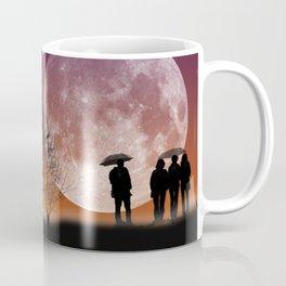 """Walking in front of the moon"" #digital #art Coffee Mug"