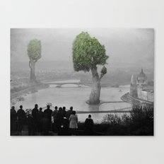 City of Nature Canvas Print