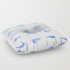 Mascara Envy – Blue Ombré Palette Floor Pillow