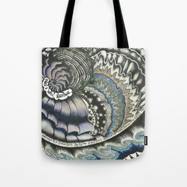 Golden Spiral (no fear) Tote Bag