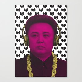 Kim Jong ILL Canvas Print