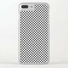 Geometric, Scandinavian, Minimal, Pattern, Modern art Clear iPhone Case