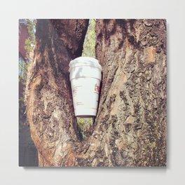 Nonhuman Coffee Break Metal Print