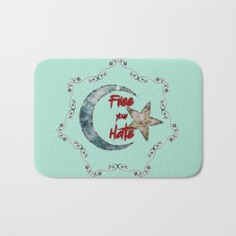 Free your Hate Bath Mat