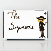 coven iPad Cases featuring The Supreme by Dax M