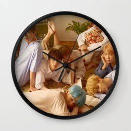 Bangtan Boys / BTS Wall Clock
