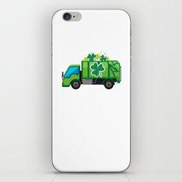 Clover Truck St Patricks Day Full Green Shamrock iPhone Skin