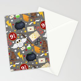 School of Magic - Notebook Stationery Cards