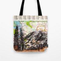washington Tote Bags featuring Washington by Ursula Rodgers