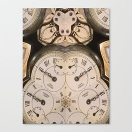 Tic Toc Canvas Print