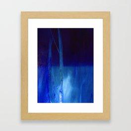 water landscape, nocturnal Framed Art Print