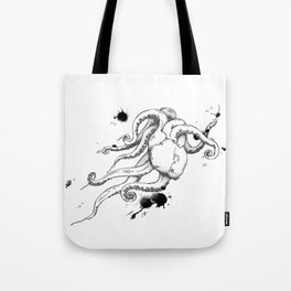 Octoheart Tote Bag