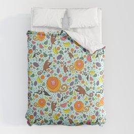 Cute Rainforest Pattern Comforters