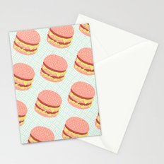 Cheeseburger Lover Stationery Cards