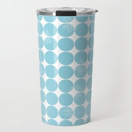 Dot Pattern Travel Mug