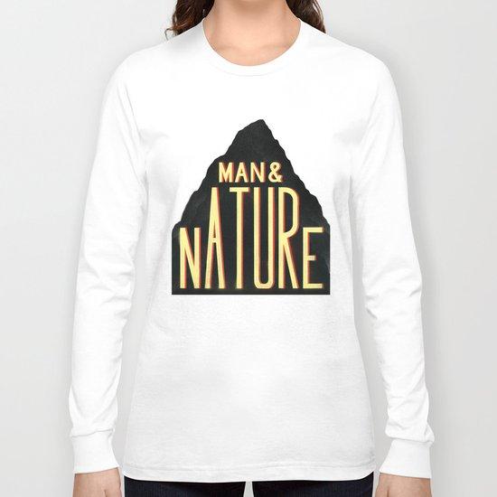 Man & Nature Long Sleeve T-shirt