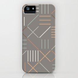 Geometric Shapes 06 iPhone Case