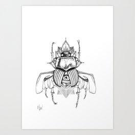 Bugged Mind Art Print