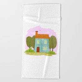 House #1 Beach Towel
