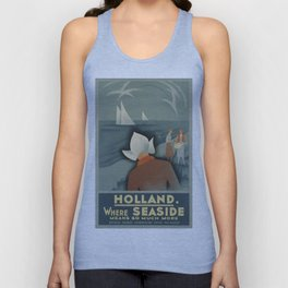 Vintage poster - Holland Unisex Tank Top