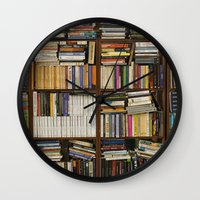books Wall Clocks featuring books by laika in cosmos