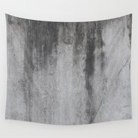 concrete Wall Tapestries featuring Concrete by Shamgar