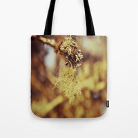 spanish Tote Bags featuring Spanish moss by  Alexia Miles photography