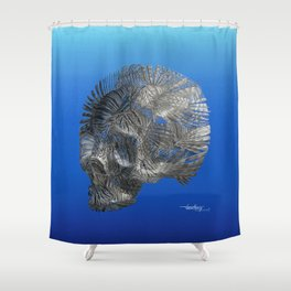 CURSE OF THE CARIBBEAN by Pascal Shower Curtain