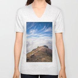 Mountains on Madeira Unisex V-Neck