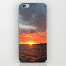 Sunset in Croatia iPhone Skin