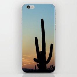 Sunset Cacti 2 iPhone Skin