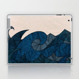 - another winter waves - Laptop & iPad Skin