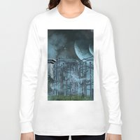 gothic Long Sleeve T-shirts featuring Gothic by nicky2342