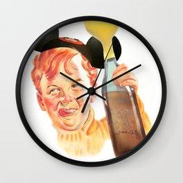 WDW Kingdomcast Huffer Wall Clock