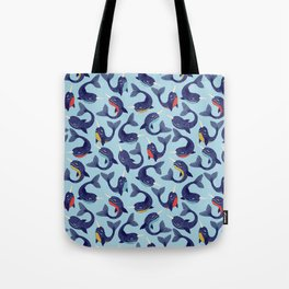 Narwhal Dance Tote Bag