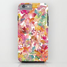 watercolor meadow iPhone 6 Tough Case